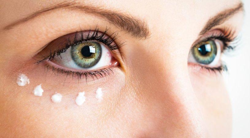 zadbana skóra pod okiem